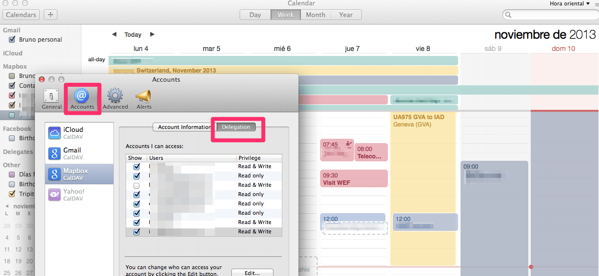 Managing work/personal Calendars – brunosan.eu